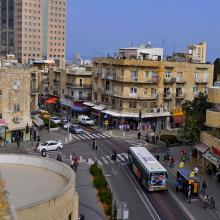 Haifa downtown picture